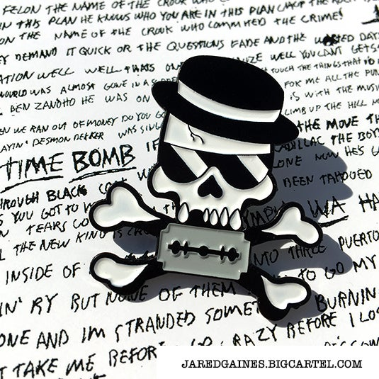 Image of Rancid Tribute Pin