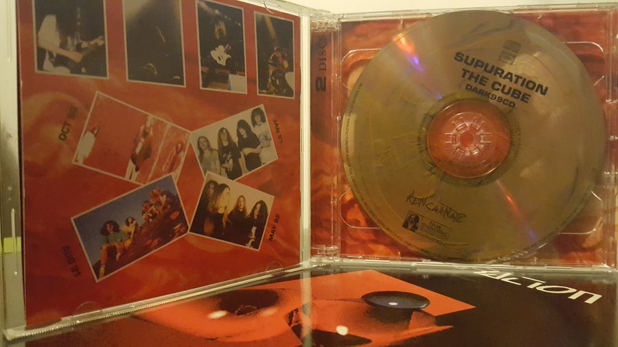 Image of The Cube réédition Import US double CD