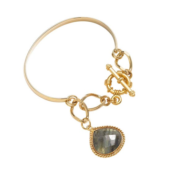 Image of CATCH THE LIGHT BANGLE BRACELET