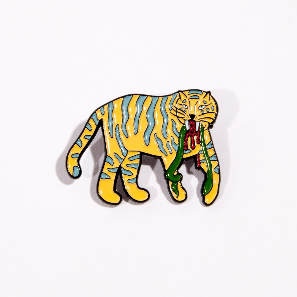 Image of Post Animal Enamel Pin Set