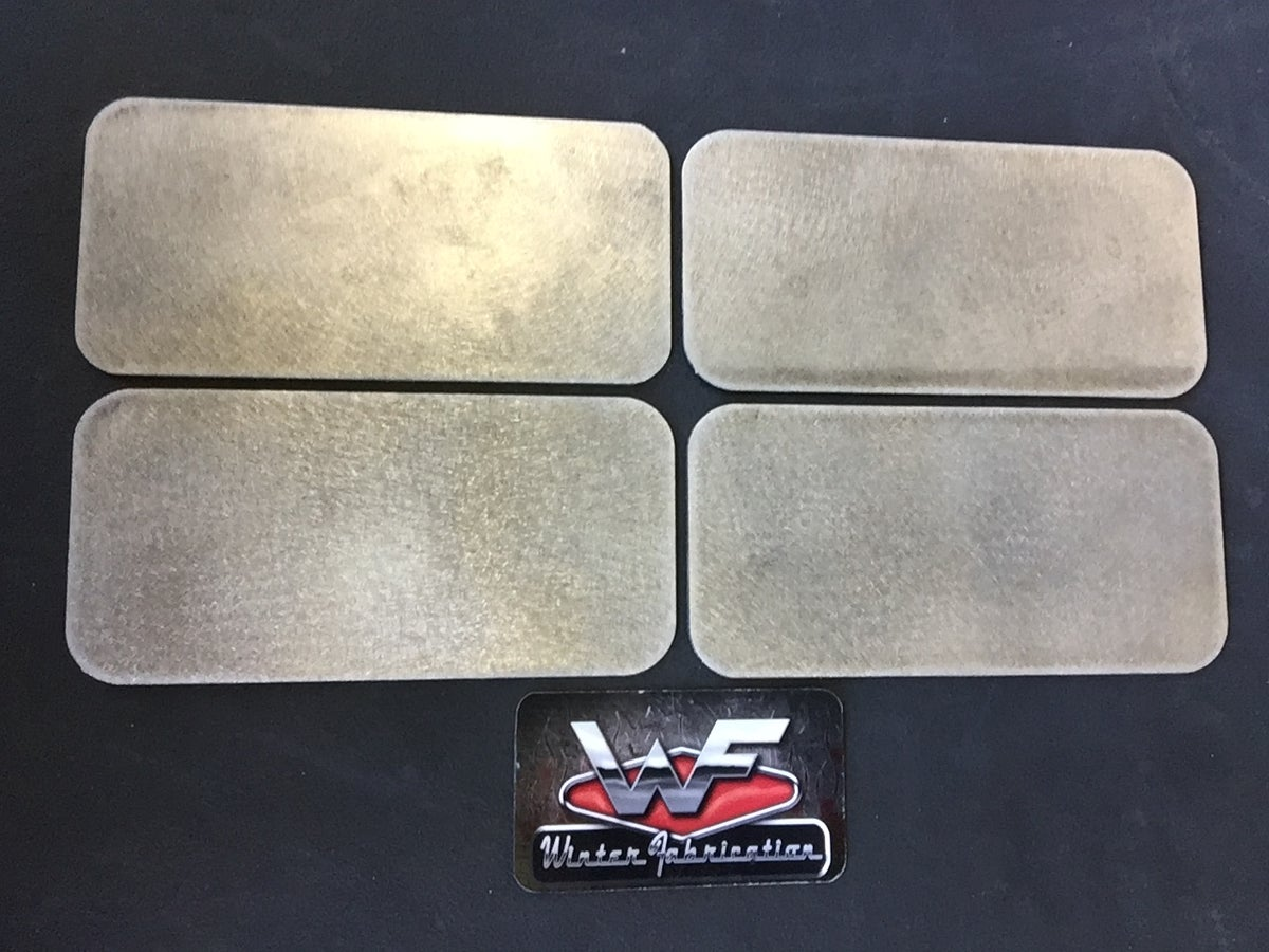 Image of 67-72 C10 Side Marker Filler Plates - QTY 4