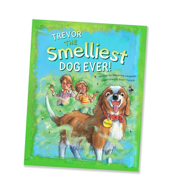 Image of NEW! Trevor the Smelliest Dog Ever
