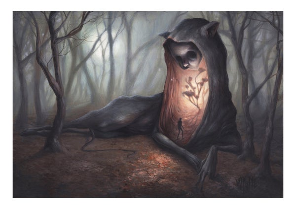 "Image of ""Quietus"" Limited edition Giclee print"