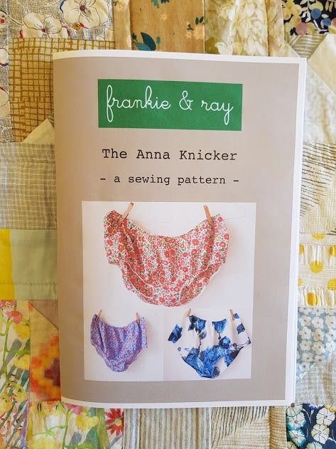 Image of The Anna Knicker - sewing pattern