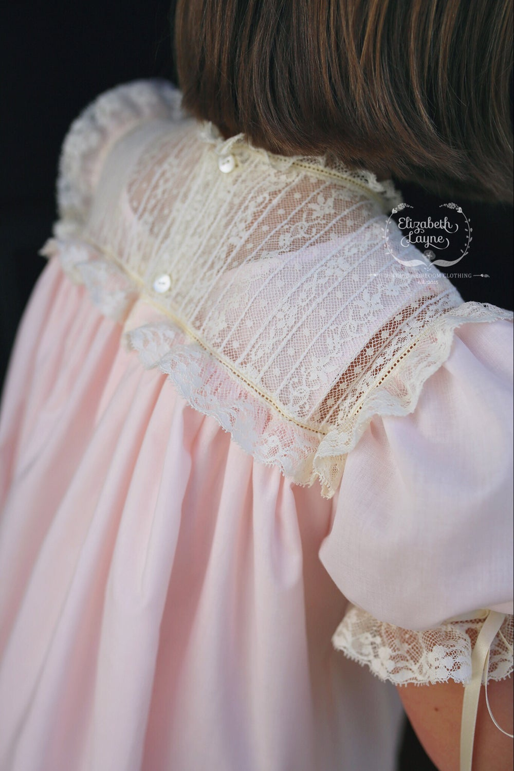 Image of The 'Lillian' Heirloom Dress