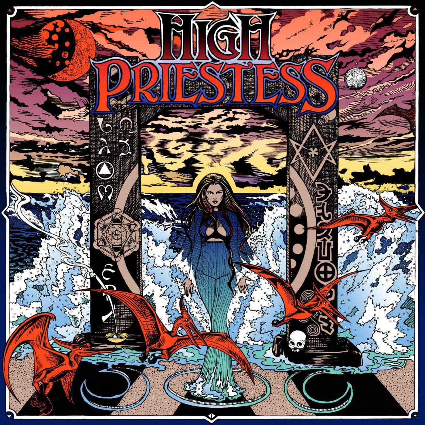 Image of High Priestess - S/T Vinyl LP
