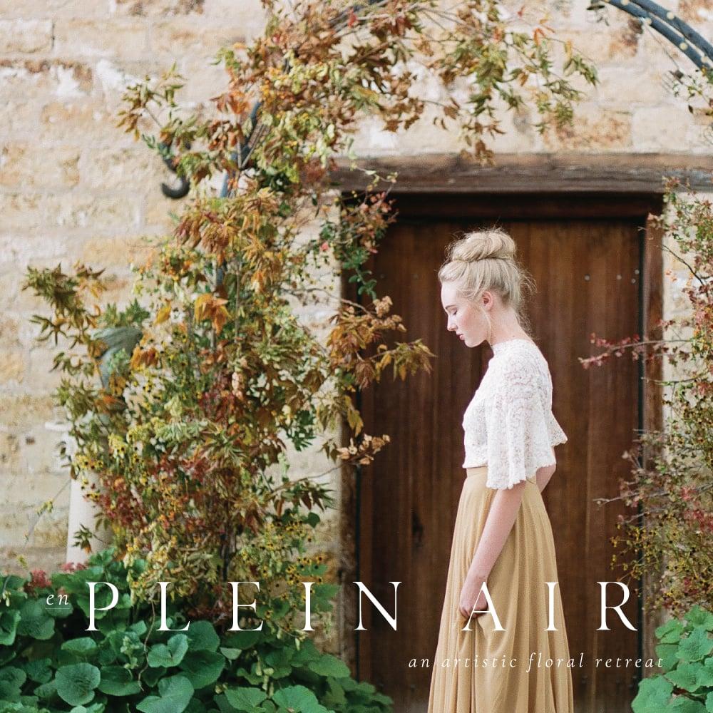 Image of en Plein Air ||  an artistic floral retreat 2018