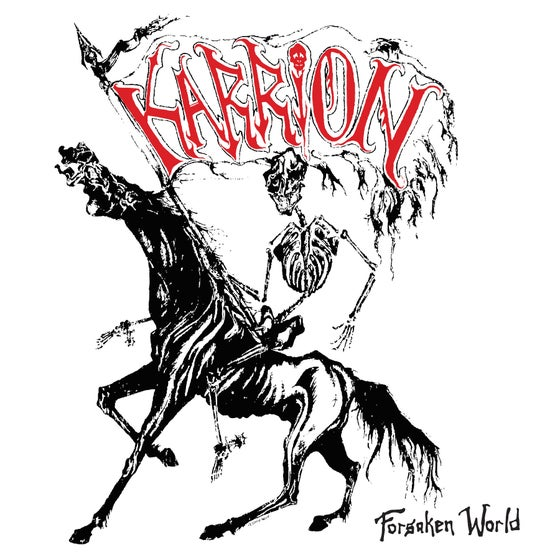 "Image of KARRION - ""FREE IN DEATH"" LP (1986-87)"