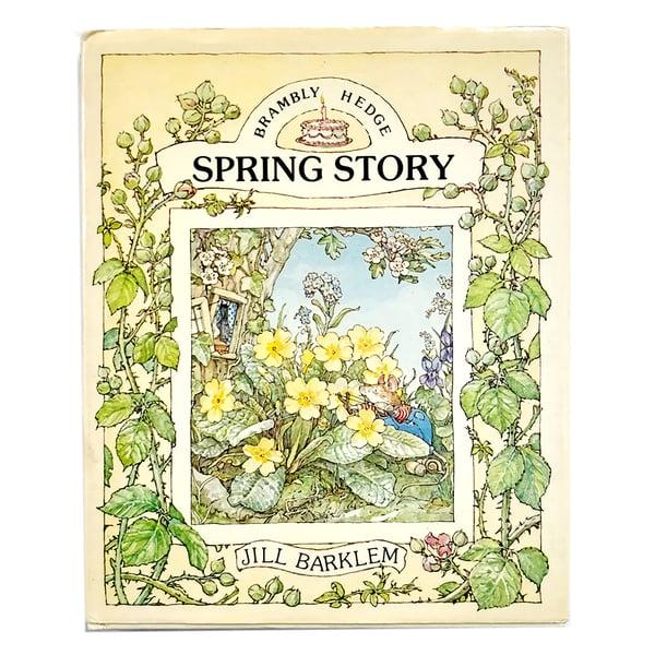 Image of Jill Barklem - Brambly Hedge: Spring Story
