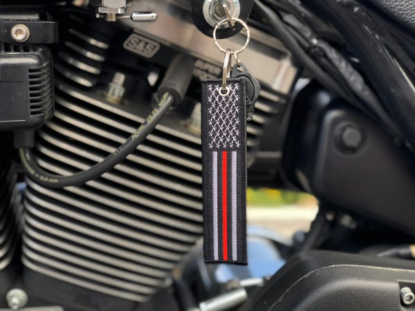 Image of Thin Red Line KeyTag