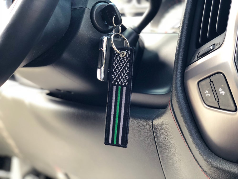 Image of Thin Green Line KeyTag