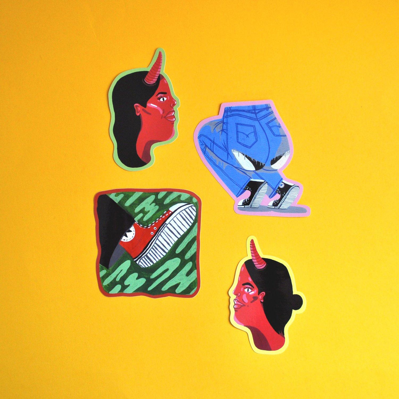 Image of Vinyl Sticker Pack