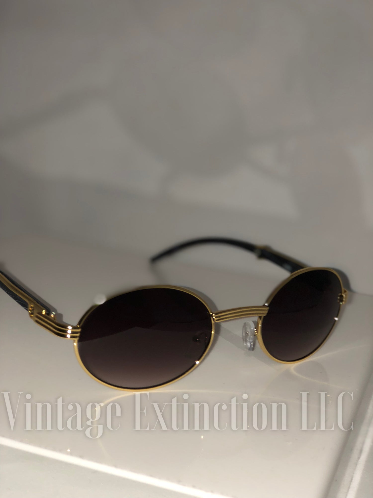 Image of Premium Unisex Wood Grain Sunglasses