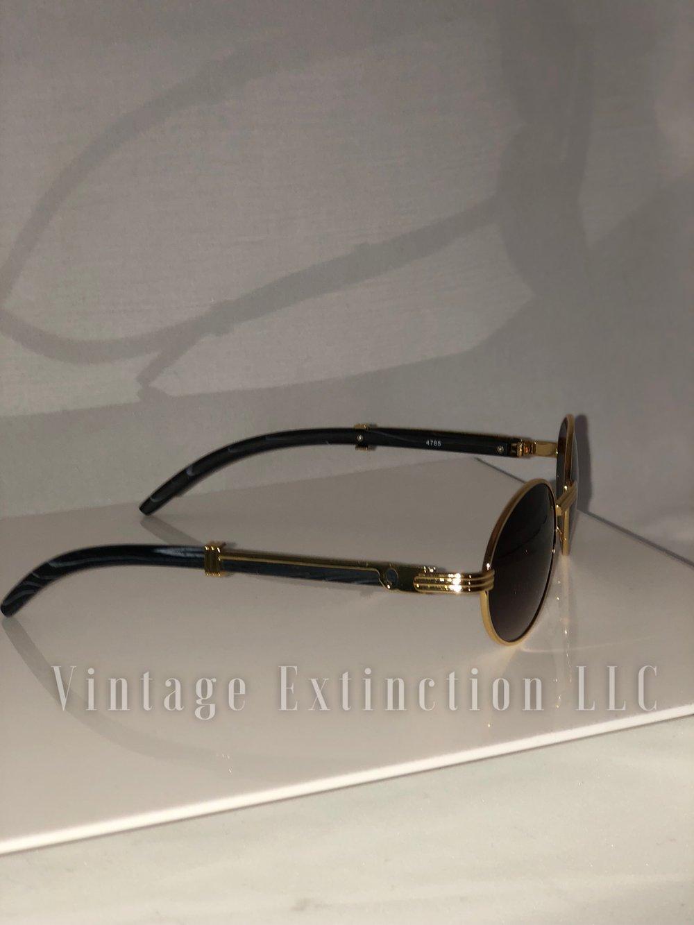 Premium Unisex Wood Grain Sunglasses