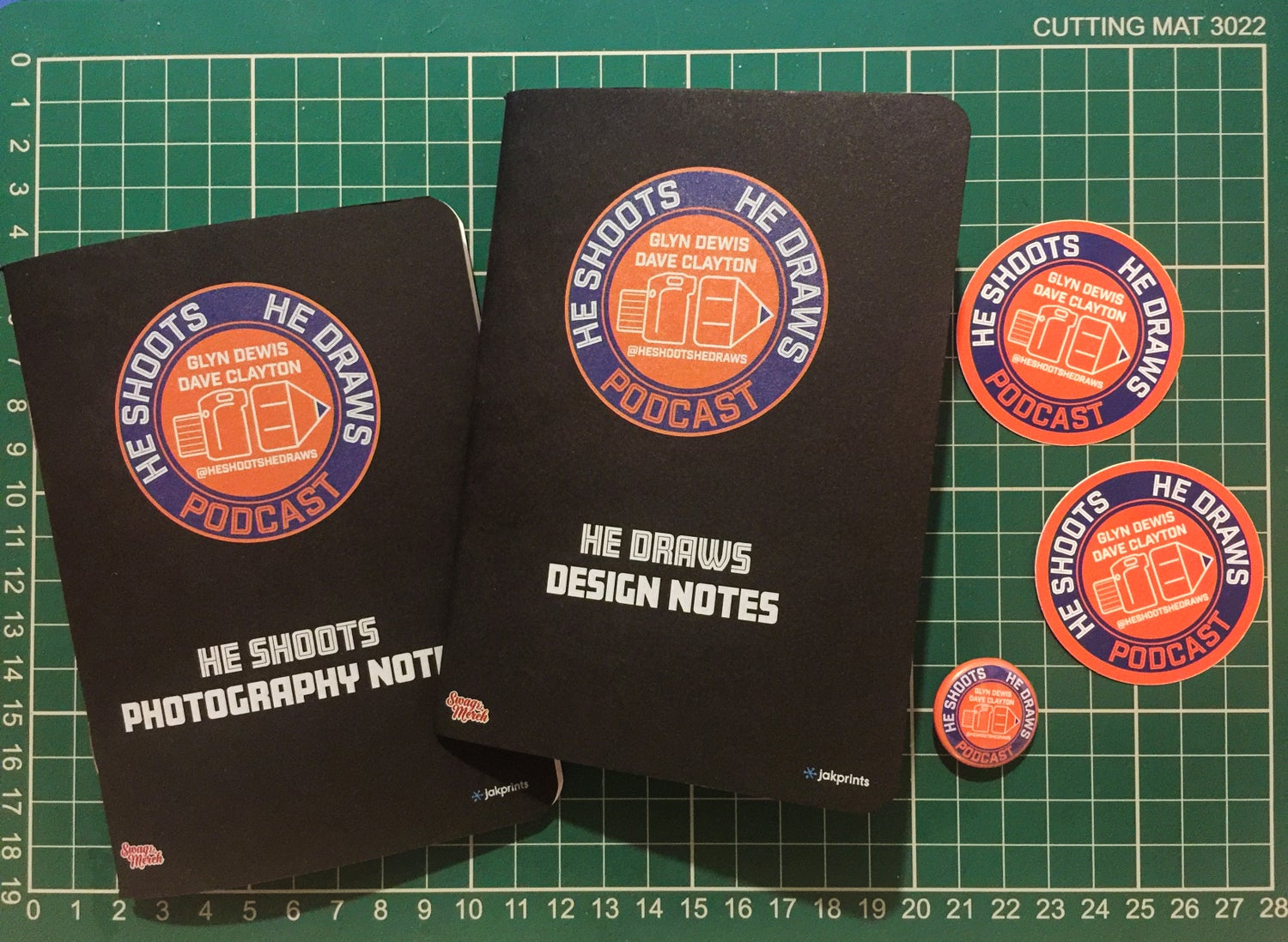 Image of **SOLD OUT** The HSHD Notebook Merch Pack