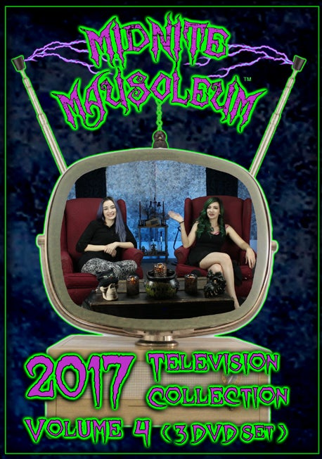 Image of Midnite Mausoleum TV2017 Volume 4 (3 DVD Set)