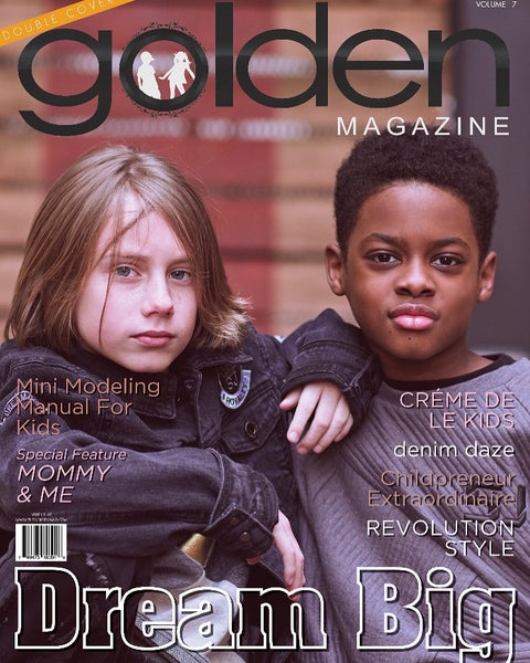 Image of GOLDEN MAGAZINE ISSUE 7 DOUBLE COVER Dream Big