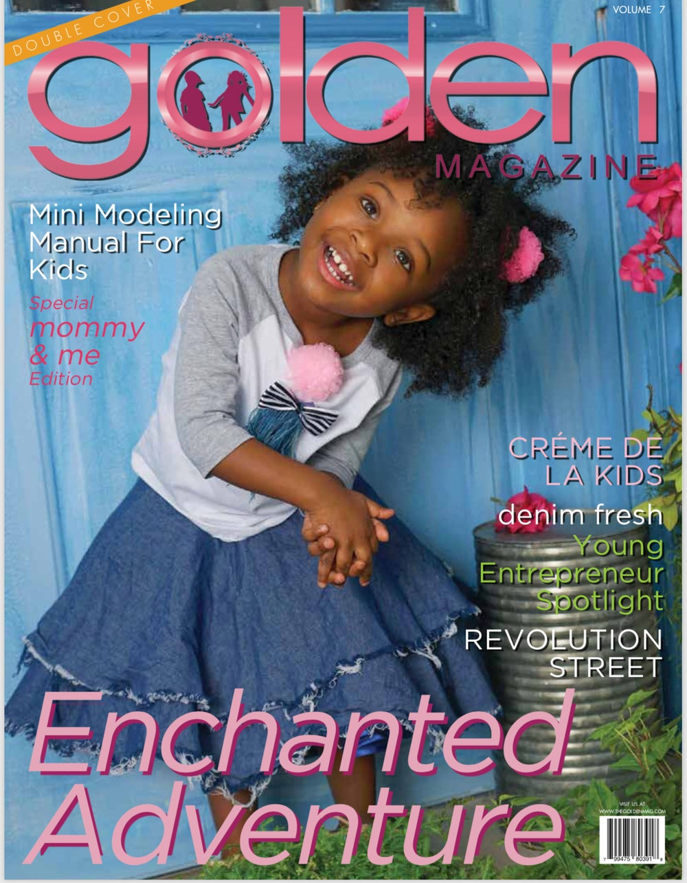 Image of GOLDEN MAGAZINE ISSUE 7 DOUBLE COVER Enchanted Adventure
