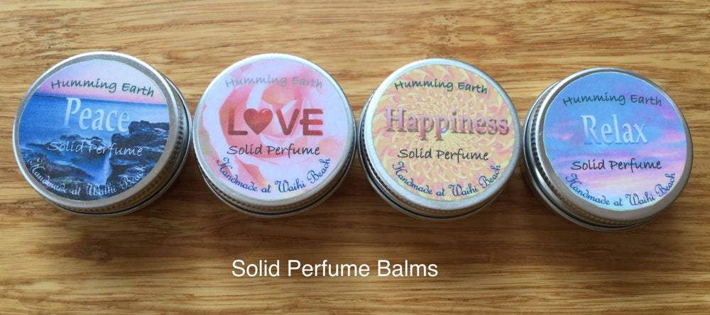 Image of Solid Perfume Balms