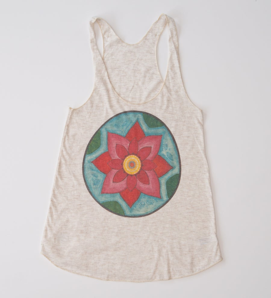Image of Lotus Racer Back Tank Top