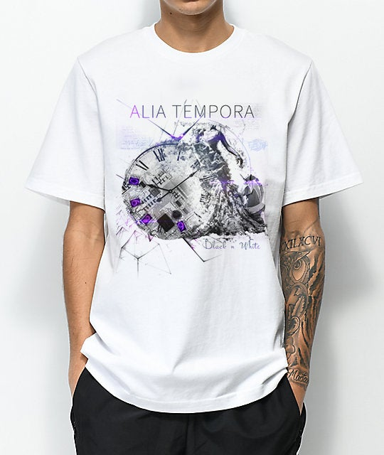 Image of BLACK 'N' WHITE T-shirt (MEN)