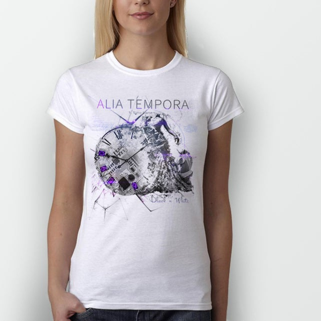 Image of BLACK 'N' WHITE T-shirt (WOMEN)