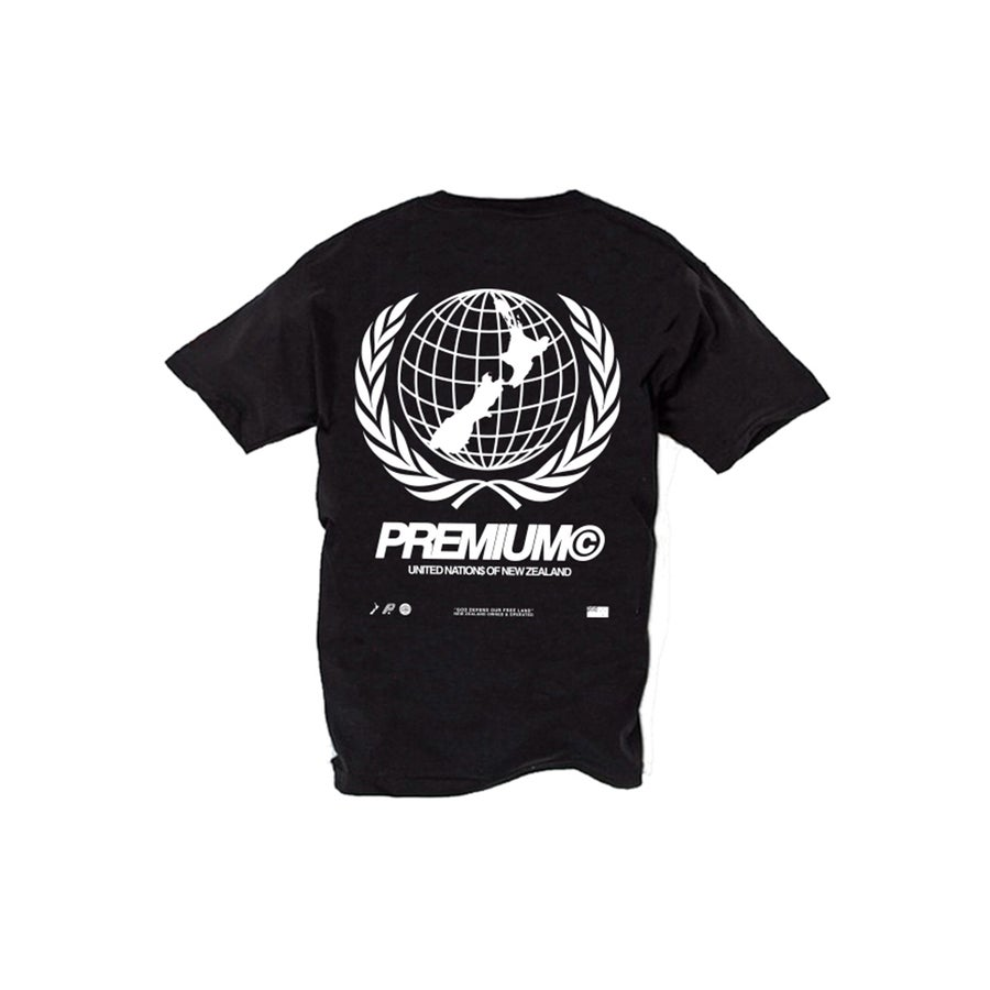 Image of UNITED NATION$ Tee (Black)