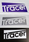 """tracer"" rectangle decal"