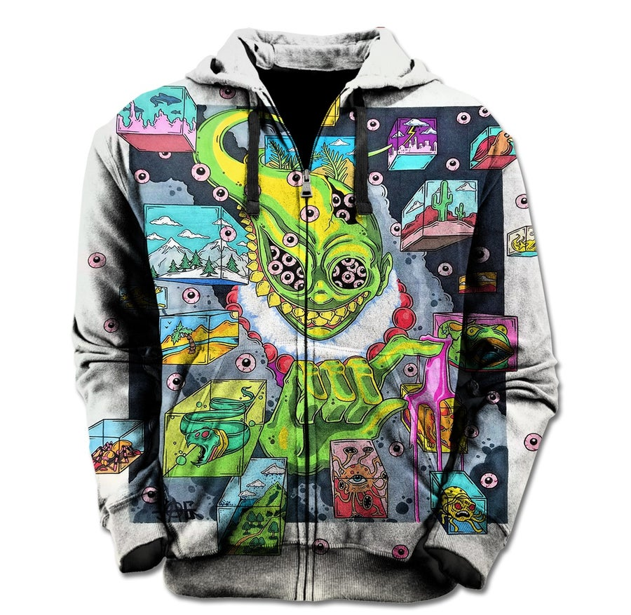 Image of Unleashed Visions Hoodie