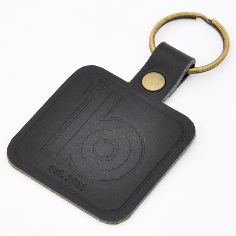 Image of Leather Keyring