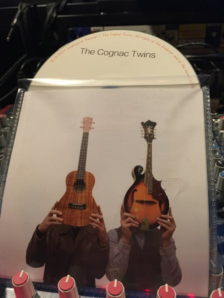 Image of THE COGNAC TWINS CD Album