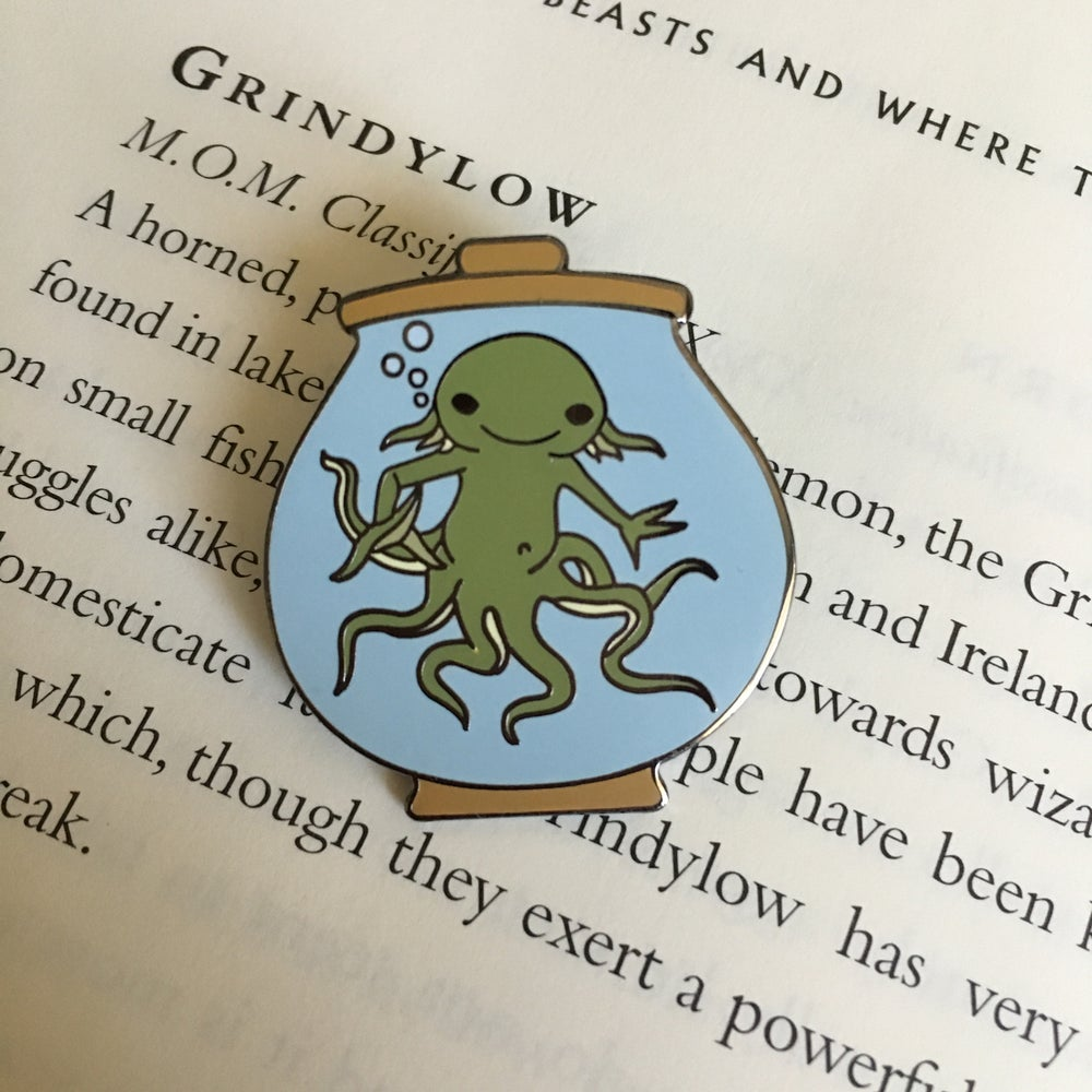 Image of Itty Bitty Grindylow - Green Variant