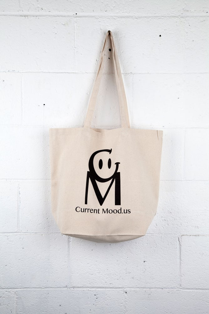 Image of Current Mood Logo Tote Bag