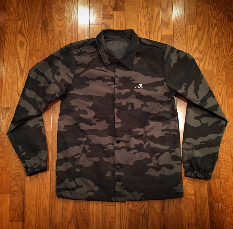 "Image of Camo ""Army Of God"" & ""Positive is Greater Than Negative"" Coaches Jackets"