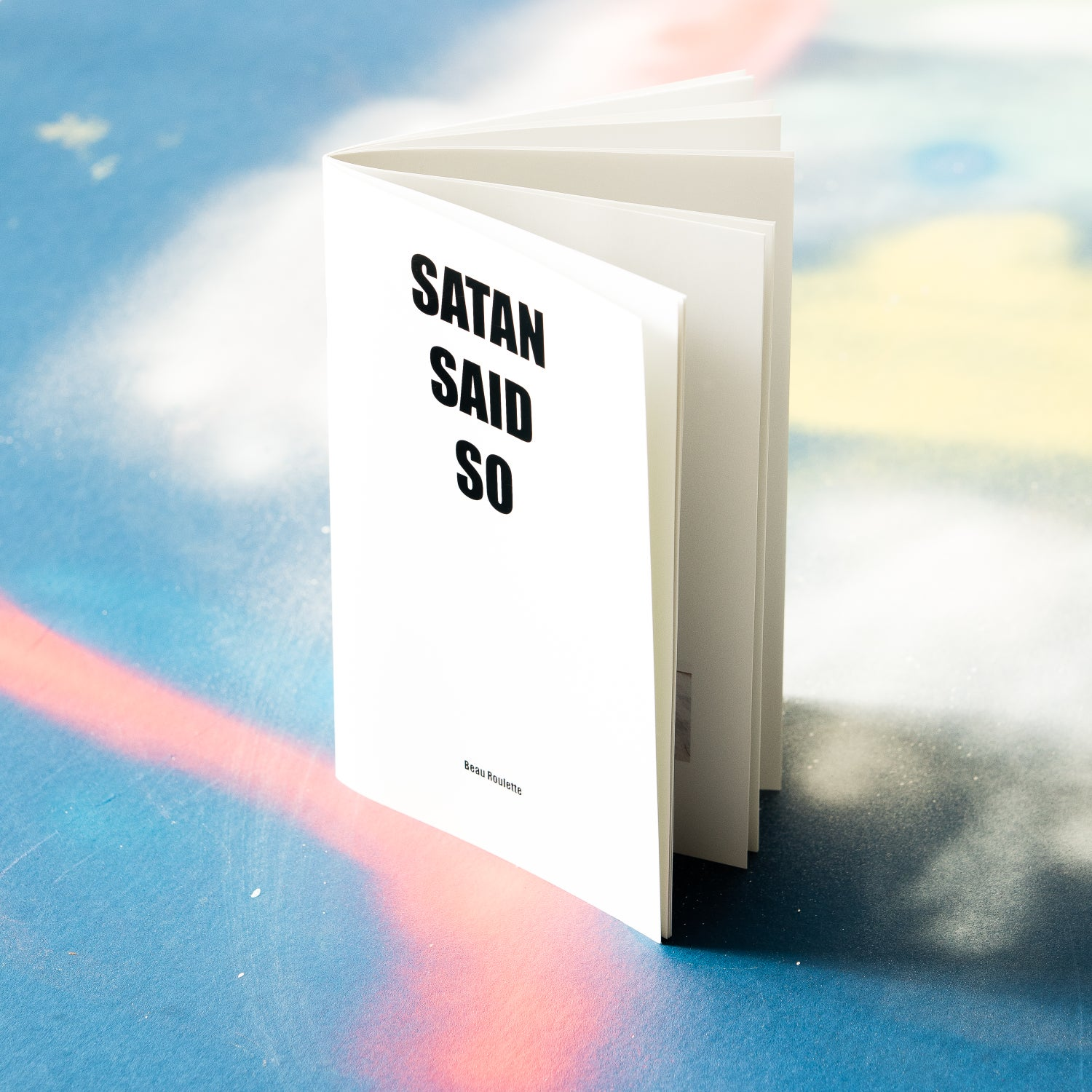 "Image of ""Satan Said So"" second printing"