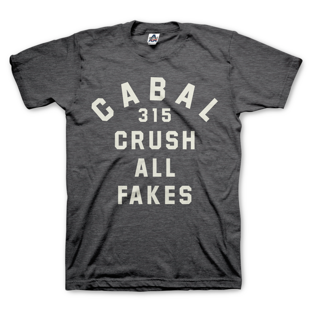 Image of Crush All Fakes - Charcoal Heather