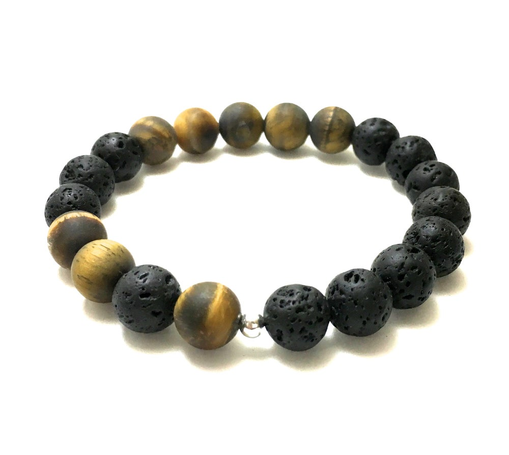 Image of Raw Tigers Eye & Lava
