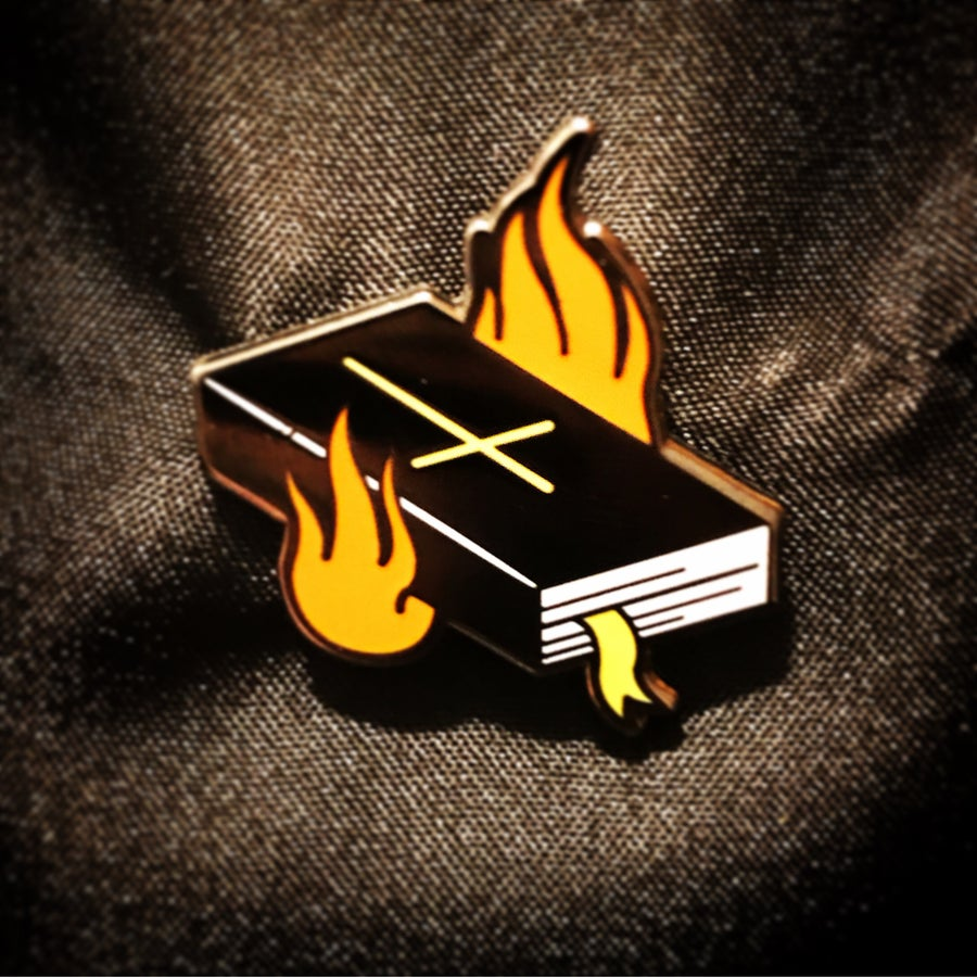 Image of Unholy Bible Pin