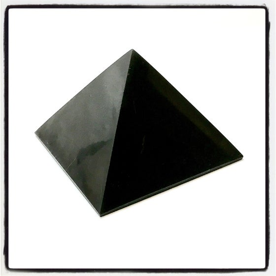 Image of SHUNGITE PYRAMID