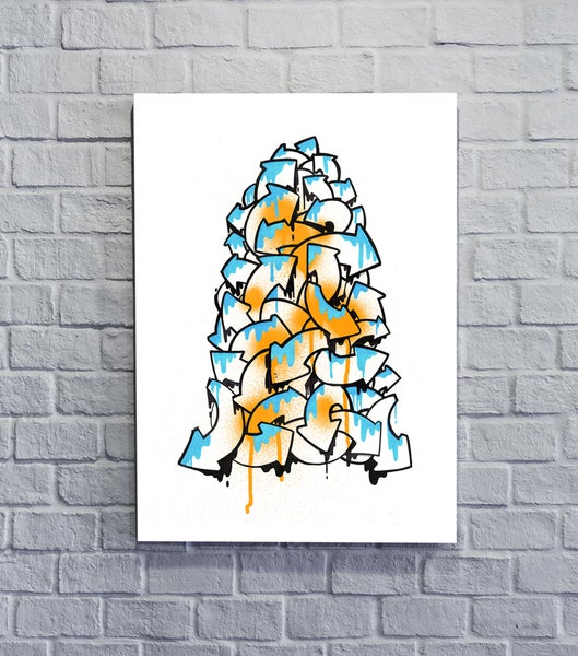 Image of Pile of discarded arrows - Limited edition Giclée print 2018