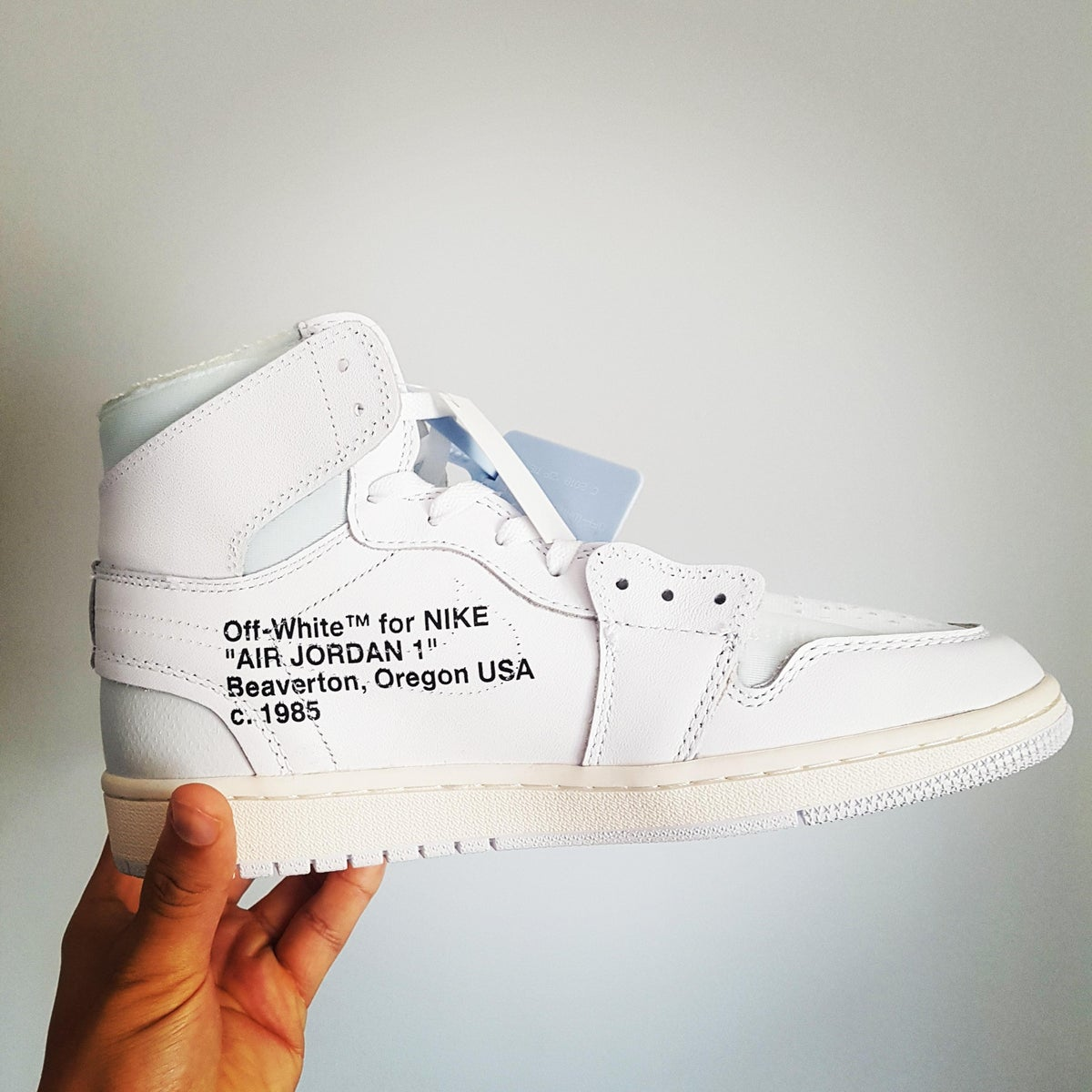 quality design ea5c3 465ae AIR JORDAN 1 X OFF-WHITE