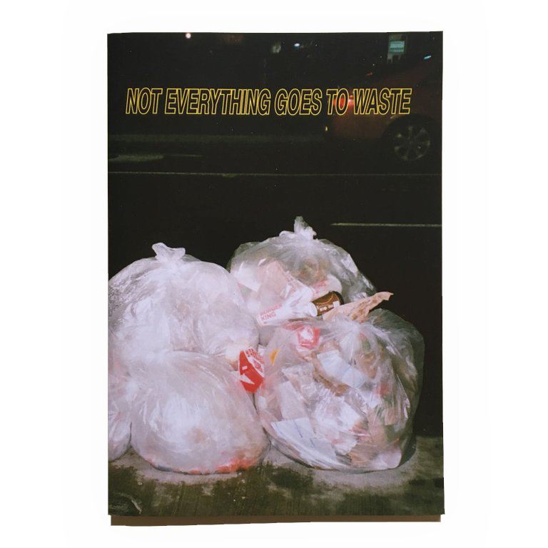 "Image of *** ""NOT EVERYTHING GOES TO WASTE"" *** FANZINE"