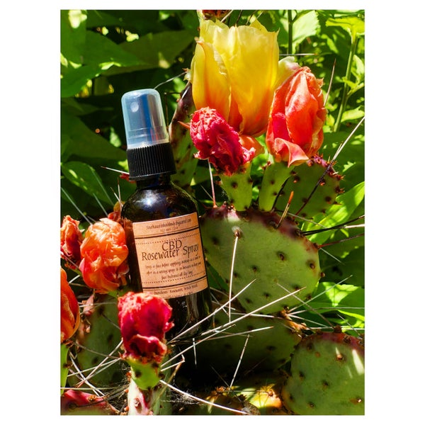 Image of CBD Rose Water Facial Spray
