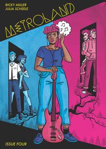 Image of Metroland #4 By Ricky Miller & Julia Scheele
