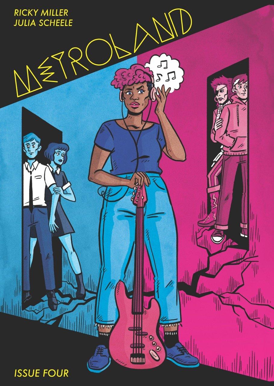 Metroland #4 By Ricky Miller & Jules Scheele