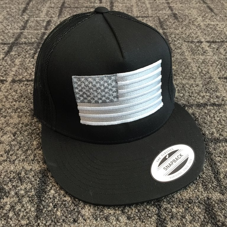 Image of American Flag Snapback Hat