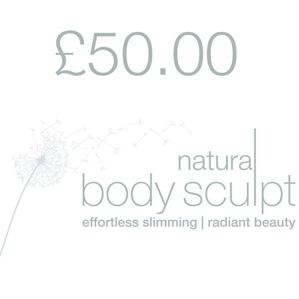 Image of £50 Deposit   Natural Body Sculpt