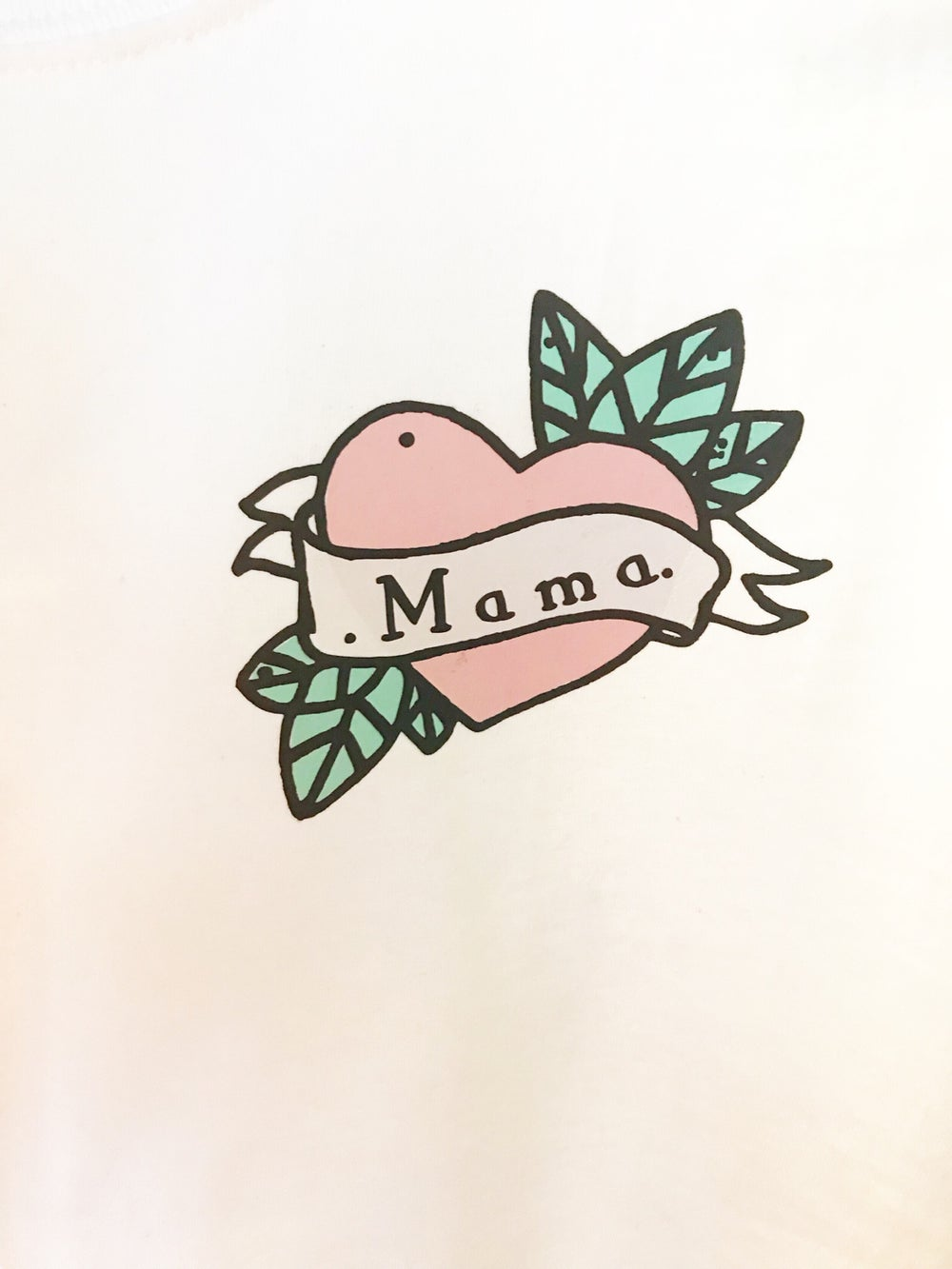 Image of Mama scroll tee or sweater