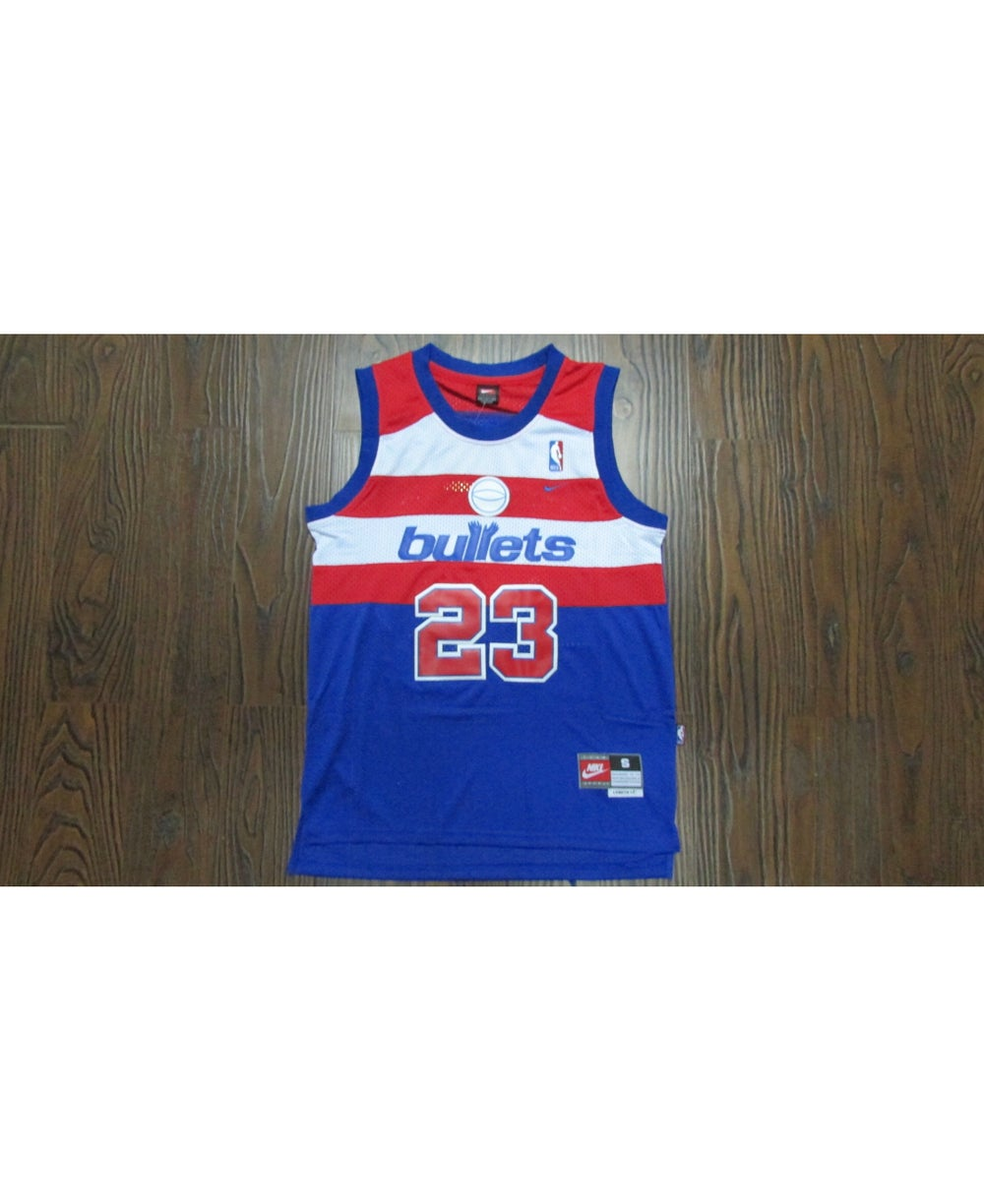 "Image of Micheal Jordan Washington wizards ""bullets"" Jersey"