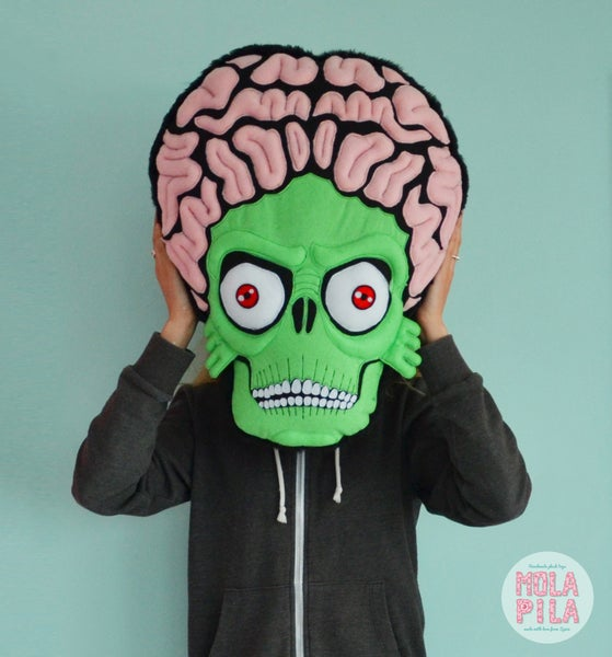 Image of Mars attacks plush toy.